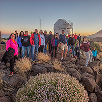 Astronomy Education Adventure in the Canary Islands 2020